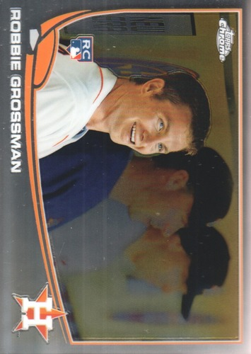 Photo of 2013 Topps Chrome #82 Robbie Grossman  Rookie Card