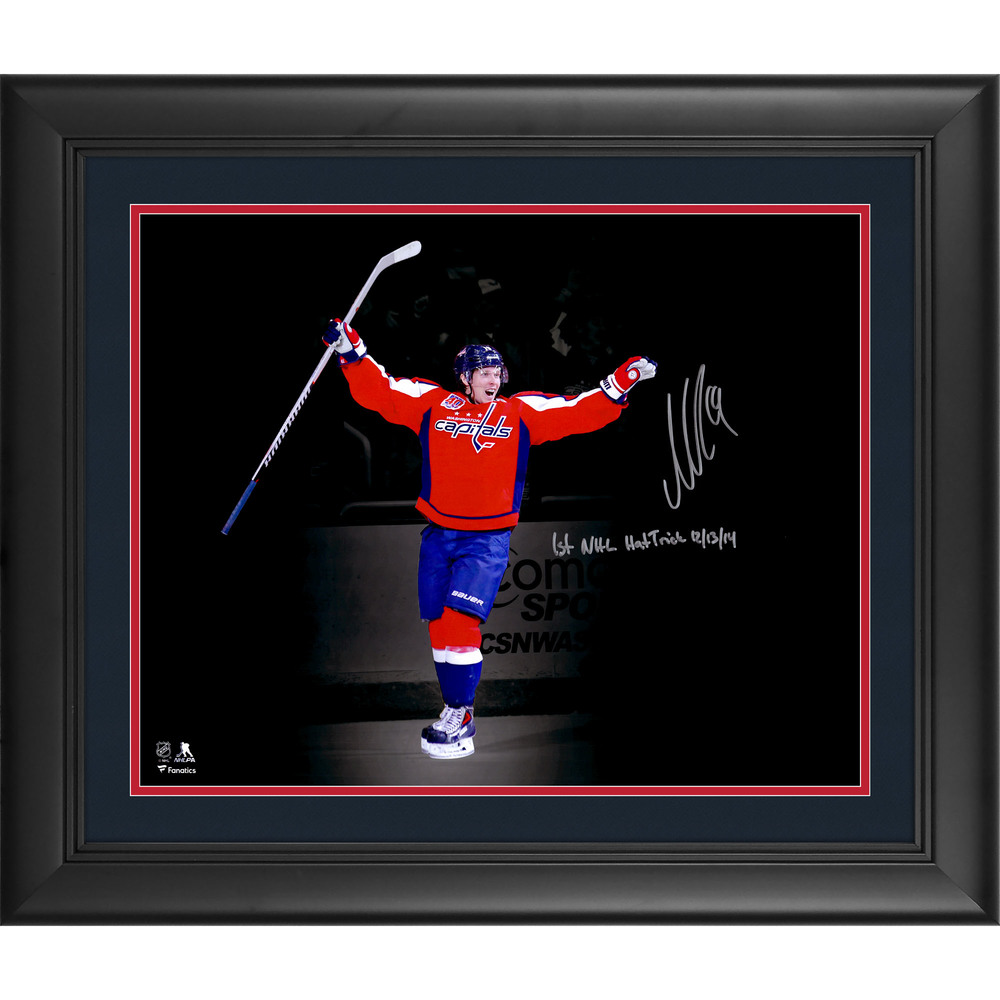 Nicklas Backstrom Washington Capitals Framed Autographed 16