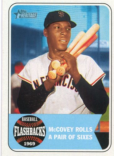 Photo of 2018 Topps Heritage Baseball Flashbacks #BFWM Willie McCovey