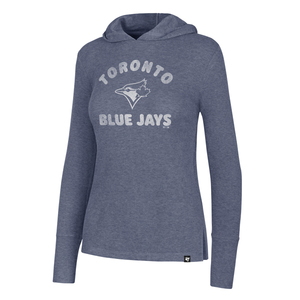 Toronto Blue Jays Women's Campbell Rib Hoody by '47 Brand