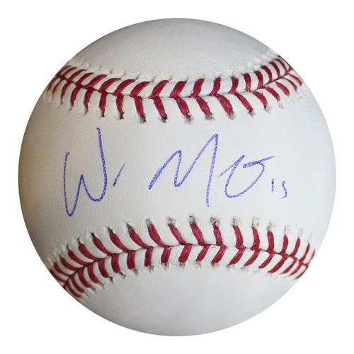 Photo of Autographed Baseball: Whit Merrifield