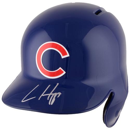 Photo of Ian Happ Chicago Cubs Autographed Replica Batting Helmet