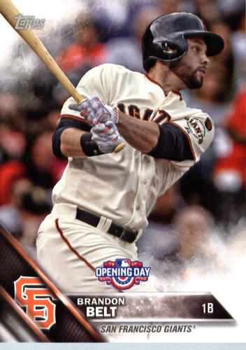 Photo of 2016 Topps Opening Day #OD19 Brandon Belt