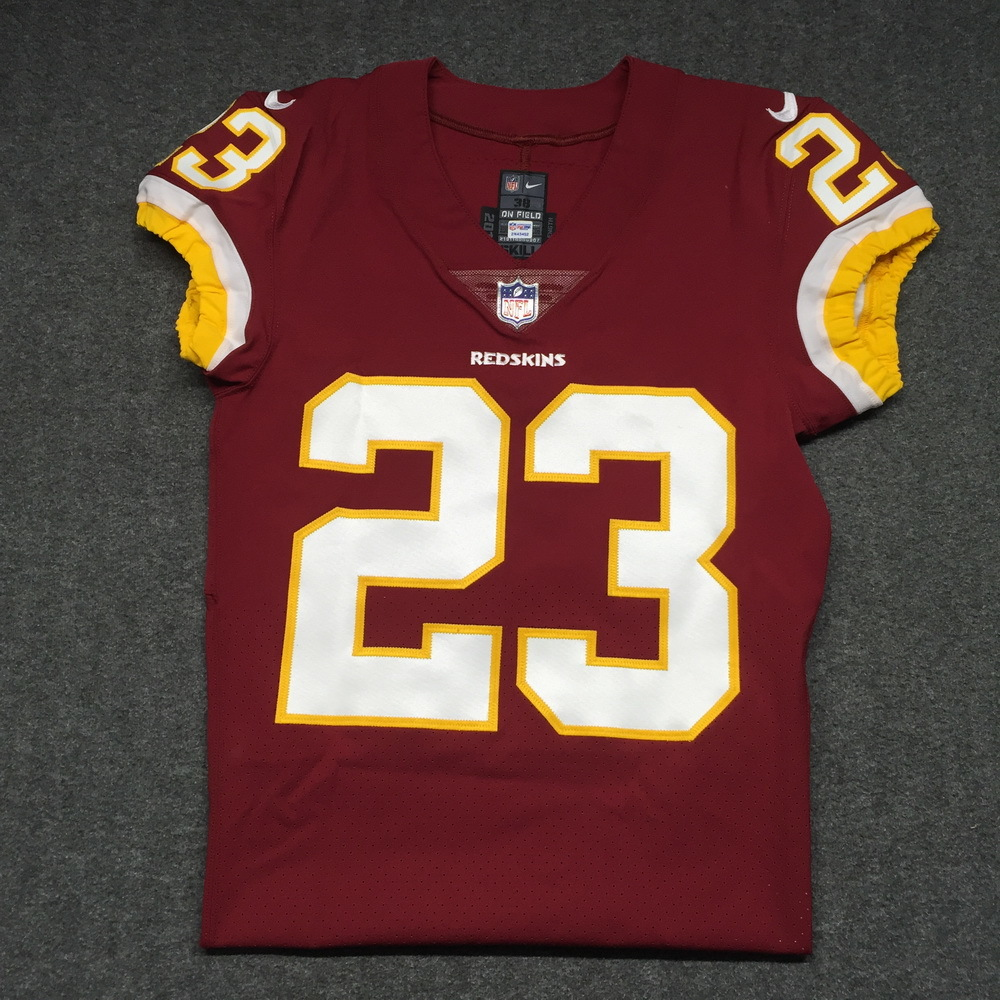 NFL Auction | Crucial Catch - Redskins Deangelo Hall signed and ...