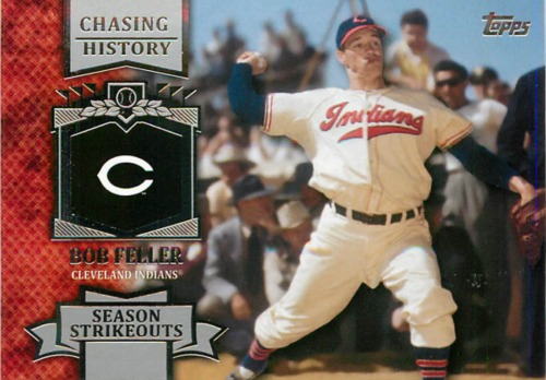 Photo of 2013 Topps Chasing History #CH45 Bob Feller