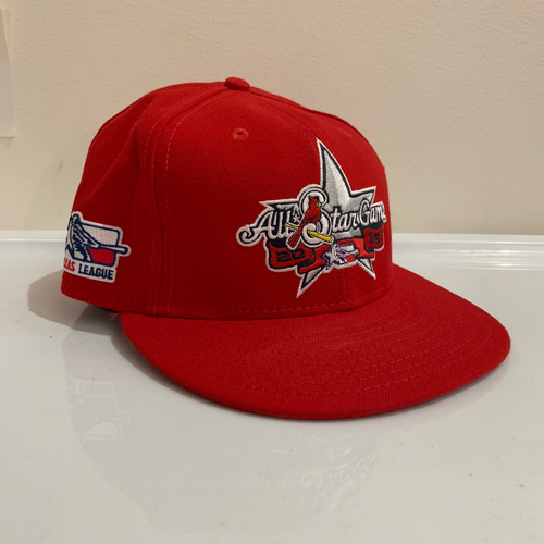 Photo of 2016 Texas League All Star Game -  Game Used Cap  - Josh Lucas (St. Louis Cardinals) Size - 7 -1/4