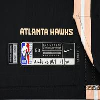 Bruno Fernando - Atlanta Hawks - Game-Worn City Edition Jersey - 2019-20 Season