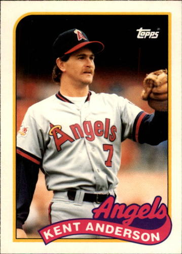 Photo of 1989 Topps Traded #3T Kent Anderson