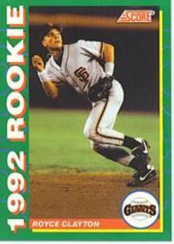 Photo of 1992 Score Rookies #12 Royce Clayton