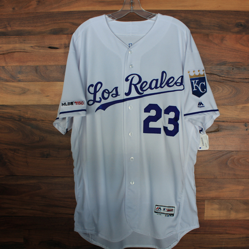Photo of Game-Used Jersey: Mike Jirschele (Size 50 - KC vs MIN - 6/21/19)