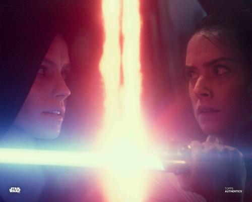 Rey and Dark Side Rey