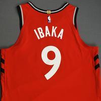Serge Ibaka - Toronto Raptors - Game-Worn Icon Edition Jersey - NBA Japan Games - 2019-20 NBA Season