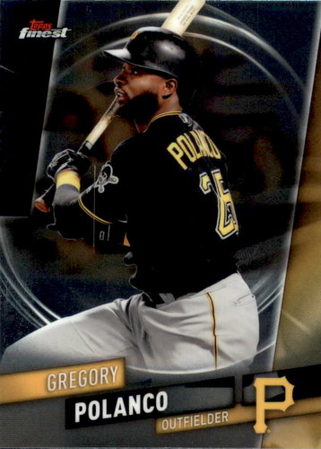 Photo of 2019 Finest #79 Gregory Polanco