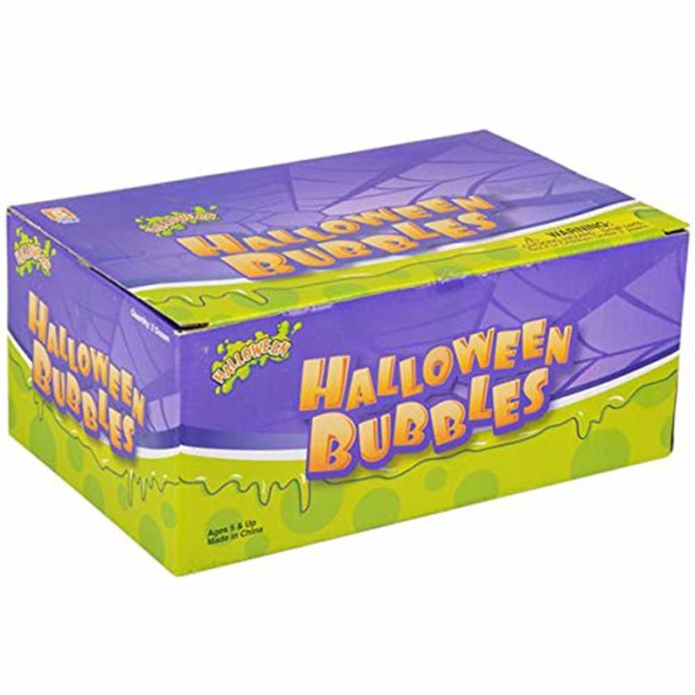 "Photo of 2.75"" Assorted Halloween Bubbles Package of 24"