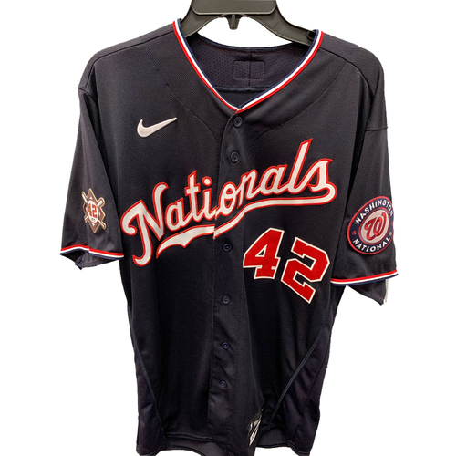 Photo of Ryne Harper - Jackie Robinson Day Game Used Jersey