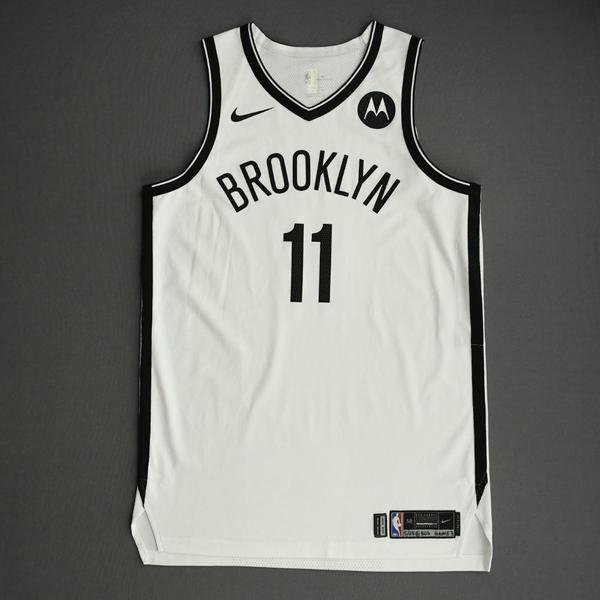 Image of Kyrie Irving - Brooklyn Nets - Game-Worn Association Edition Jersey - 2021 NBA Playoffs