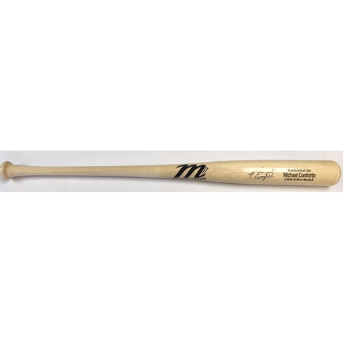 Photo of Michael Conforto Autographed Game Model Marucci Bat