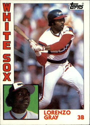 Photo of 1984 Topps #163 Lorenzo Gray