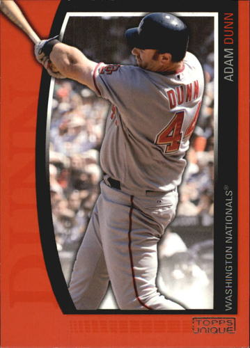 Photo of 2009 Topps Unique Red #82 Adam Dunn