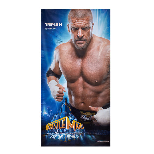Triple H SIGNED WrestleMania 29 Superstore Wall Art