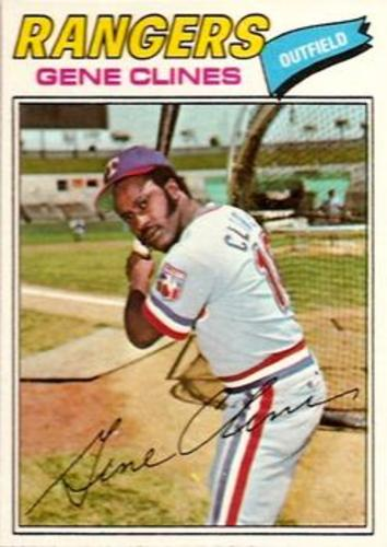 Photo of 1977 Topps #237 Gene Clines