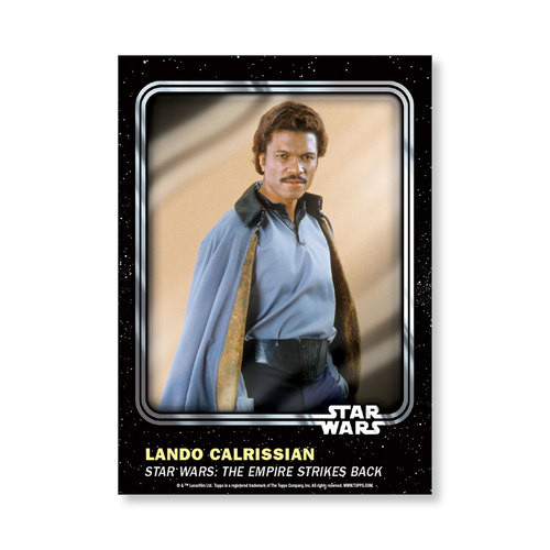 Lando Calrissian 2016 Star Wars Card Trader Base Poster - # to 99