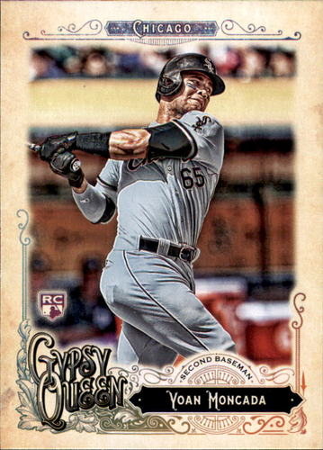 Photo of 2017 Topps Gypsy Queen #250A Yoan Moncada Rookie Card