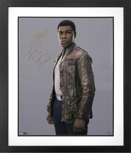 John Boyega as Finn Autographed Inscribed