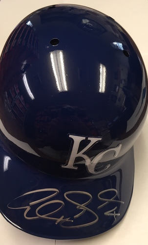 Photo of Alex Gordon Autographed Royals Batting Helmet