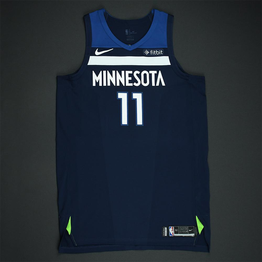 Jamal Crawford - Minnesota Timberwolves - 2018 NBA Playoffs Game-Worn Jersey
