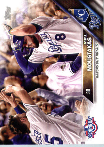 Photo of 2016 Topps Opening Day #OD21A Mike Moustakas