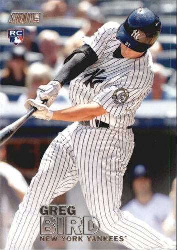 Photo of 2016 Stadium Club #46 Greg Bird RC