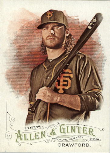 Photo of 2016 Topps Allen and Ginter #171 Brandon Crawford