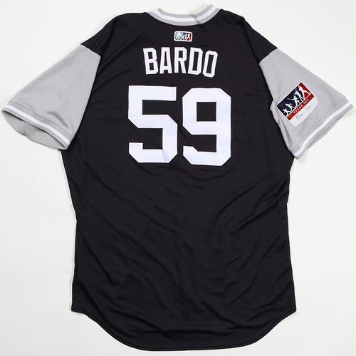 "Photo of Josh ""Bardo"" Bard New York Yankees Game-Used Jersey 2018 Players' Weekend Jersey"