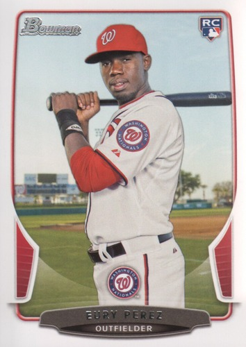 Photo of 2013 Bowman #219 Eury Perez RC