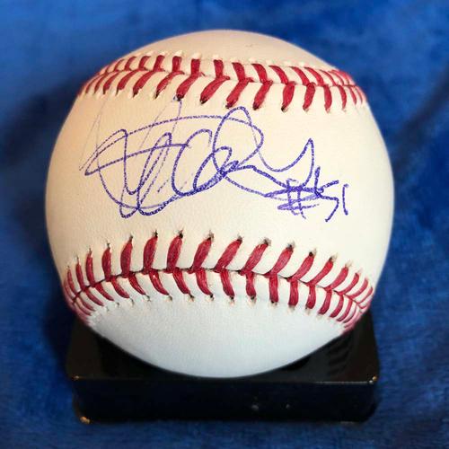 UMPS CARE AUCTION: Ichiro Suzuki Signed Baseball