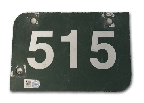Photo of Wrigley Field Collection -- Aisle Marker 515 -- Removed after 2018 Season