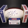 Panthers - Kawann Short Signed Panel Ball