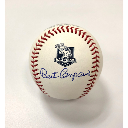 "Photo of Bert Campaneris Autographed ""Athletics Hall of Fame"" Baseball"