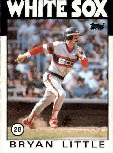 Photo of 1986 Topps #346 Bryan Little