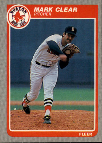 Photo of 1985 Fleer #154 Mark Clear