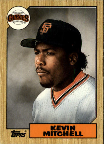 Photo of 1987 Topps Traded #81T Kevin Mitchell