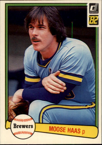 Photo of 1982 Donruss #206 Moose Haas