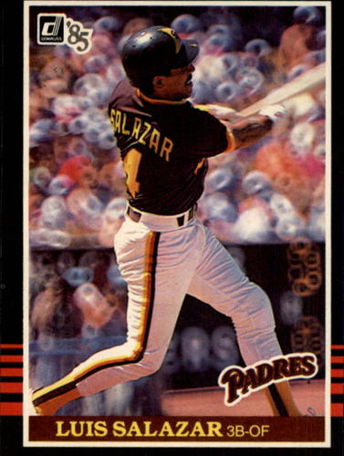 Photo of 1985 Donruss #568 Luis Salazar