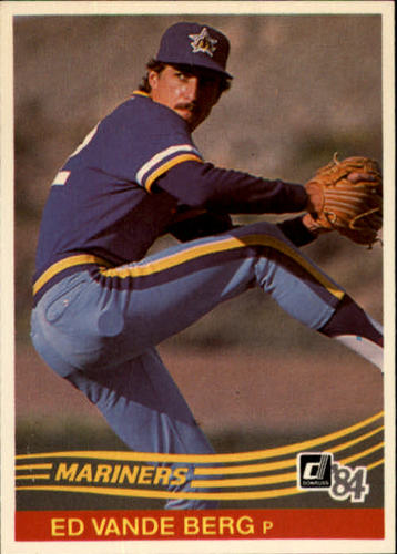 Photo of 1984 Donruss #604 Ed VandeBerg