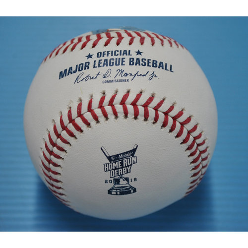 Photo of Game-Used Baseball - 2018 Home Run Derby - Bryce Harper - Semifinals, Out