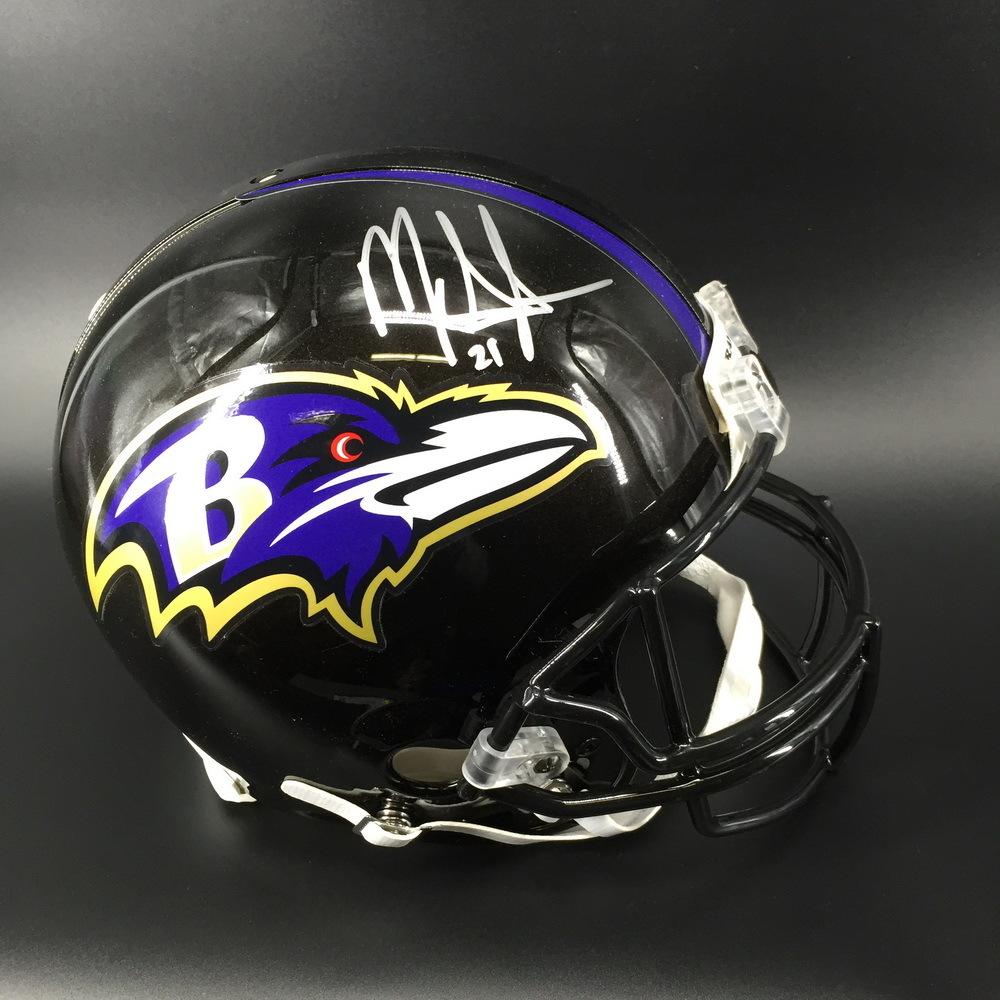 NFL - Ravens Mark Ingram Jr. Signed Proline Helmet
