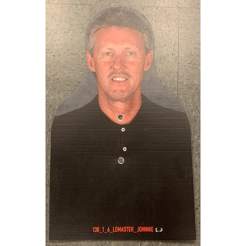 Photo of Giants Community Fund - Celebrity Cutouts - Johnnie LeMaster