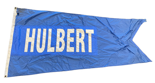 Photo of Wrigley Field Collection -- Rooftop Flag --  William Hulbert