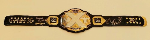 SIGNED NXT Women's Championship Replica Title (Multiple Champions)